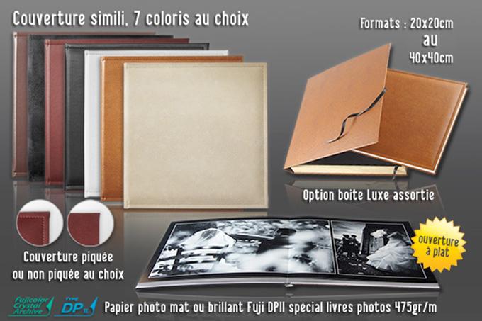 livre album de reportage mariage coloris et options - Jingoo Photo Mariage