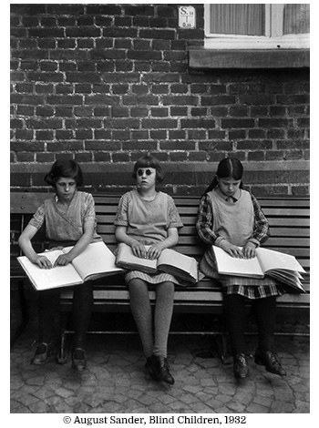 August Sander Blind Children 1932